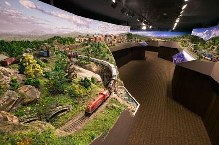 BOSTON AND MAINE_MODEL TRAIN LAYOUTS