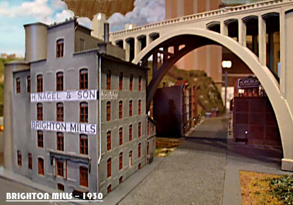 BRIGHTON MILLS_MOUNT ADAMS INCLINE_S GAUGE_CUSTOM MODEL RAILROAD