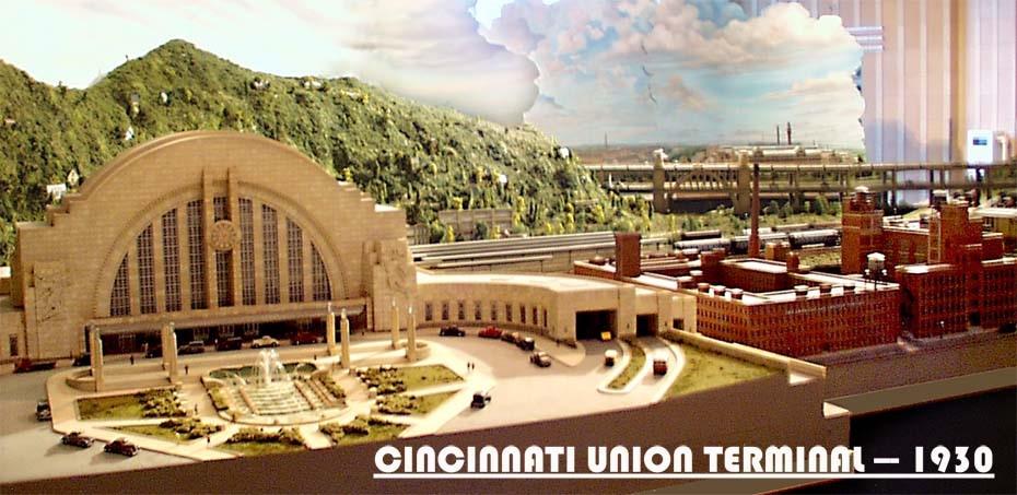 Cincinnati Union Terminal   Dunham Studios
