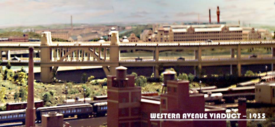 WESTERN AVENUE VIADUCT_MODEL TRAINS_S GAUGE_MODEL RAILROAD LAYOUTS