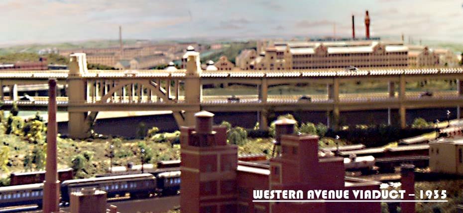 WESTERN AVENUE VIADUCT_MODEL TRAINS_S GAUGE_MODEL RAILROAD LAYOUTS